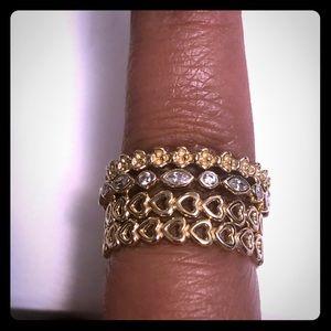 Authentic Pandora 14k Gold rings